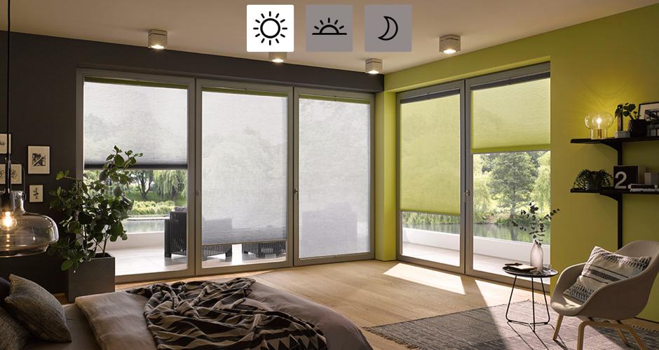 Tende a vetro luofferta di tendine a vetro per settala o provincia di milano che siano pliss o - Tende a vetro per finestre ...