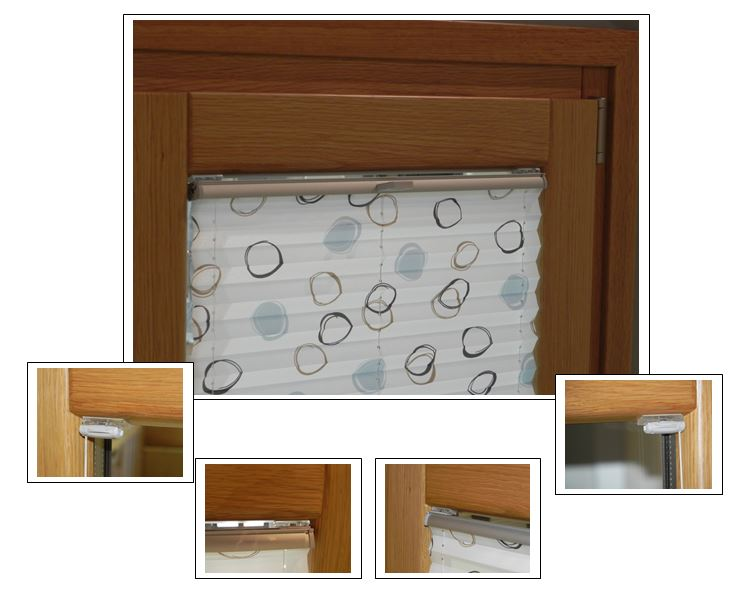 Istruzioni di montaggio senza fori per tenda pliss a - Guarnizioni adesive per finestre ...