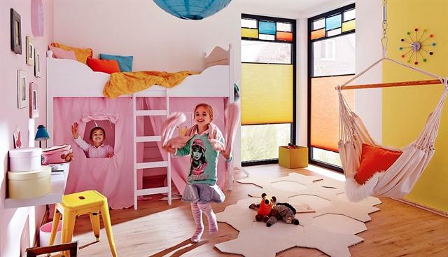 5 idee per arredare le camerette dei bambini for Stanza per ragazze